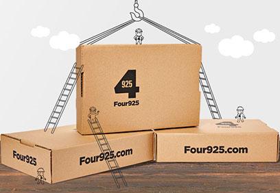 Four 925 Web Design Case Study by Brain Box